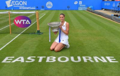 Каролина Плишкова чемпионка Aegon International Eastbourne