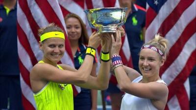Маттек-Сэндз иШафаржова стали победительницамиUS Open впарном разряде