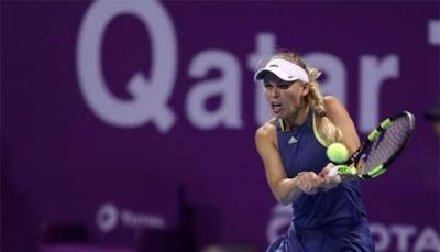 Каролин Возняцки вышла в третий раунд Qatar Total Open