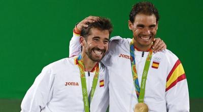 Олимпийские страсти. Рафаэль Надаль иМарк Лопес прошли врешающий этап