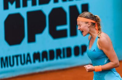 Кристина Младенович обыгрывает Светлану Кузнецову в полуфинале Mutua Madrid Open
