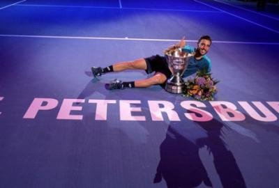 Дамир Джумхур чемпион ST.Petersburg Open