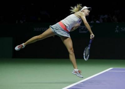 Мария Шарапова одержала третью победу на Итоговом чемпионате WTA в трёх матчах