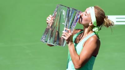 Елена Веснина чемпионка BNP Paribas Open в Индиан-Уэллсе