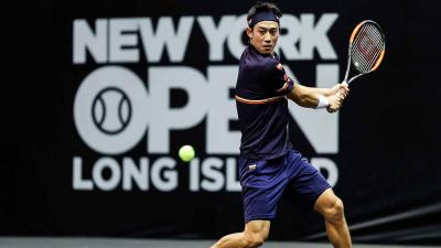 Кеи Нишикори успешно стартует на New York Open