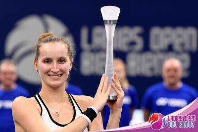 17-летняя Маркета Вондроушова чемпионка Ladies Open Biel Bienne