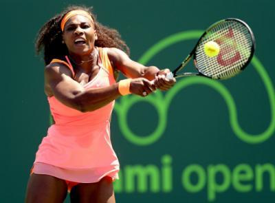 Серена Уильямс вышла вчетвёртый раунд турнира Miami Open