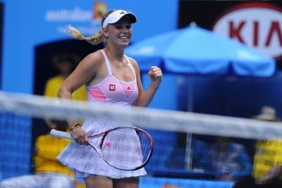 Возняцки во 2-ой раз вкарьере вышла вполуфинал Australian Open