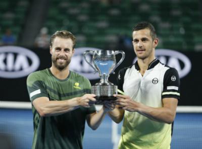 Дабровски иПавич выиграли микст Открытого чемпионата Австралии