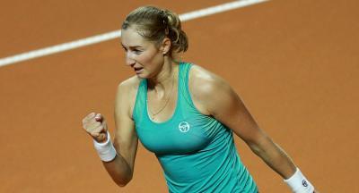 Макарова обыграла Викмайер настарте турнира вРабате