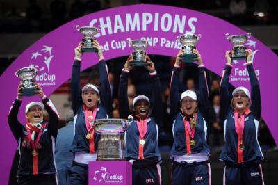Белорусские теннисистки уступили вфинале Кубка Федерации команде США