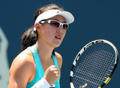 Чжен Сайсай вышла в 1/4 Japan Women's Open Tennis в Токио