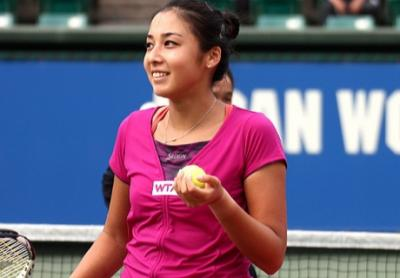 Зарина Дияс чемпионка Japan Women's Open Tennis
