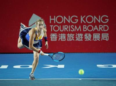 Анастасия Павлюченкова чемпионка Рrudential Hong Kong Tennis Open