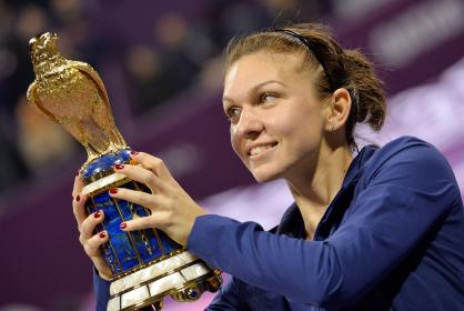 Симона Халеп выиграла Qatar Total Open 2014