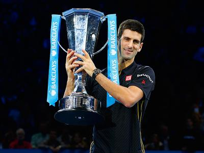 Новак Джокович - Роджер Федерер. Barclays ATP World Tour Finals. Финал