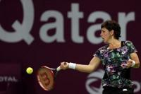 Карла Суарес Наварро - Елена Остапенко, финал, Qatar Total Open 2016, Доха, Катар